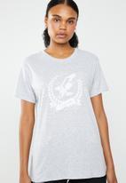 Cotton On - Tbar fox graphic -  eagleridge productions - grey