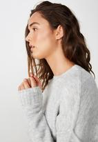 Cotton On - Rae luxe pullover - grey