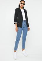 STYLE REPUBLIC - Longer length blazer - black