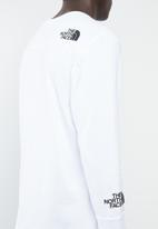 The North Face - Light long sleeve tee - white