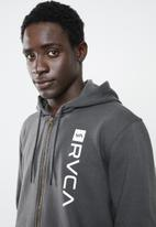 RVCA - Cage hoodie - charcoal