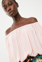 Superbalist - Boobtube blouson top - pale pink