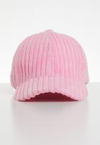 Superbalist - Corduroy peak cap - pink