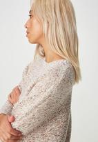 Cotton On - Jeri batwing pullover - cream