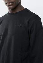 Asics Tiger - Op crew sweater - black
