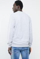 Asics Tiger - Op crew sweater - grey