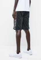 KAPPA - Banda treadwell shorts - black & white