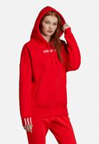 adidas Originals - Coeeze hoodie - red