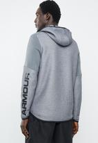 Under Armour - Move light graphic full-zip hoody - grey