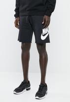 Nike - Nsw gx franchise shorts - black