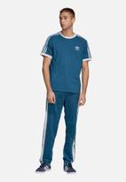adidas Originals - Snap pants - blue & white