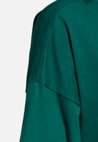 adidas Originals - Boyfriend tee dress - green