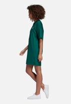 adidas Originals - Boyfriend tee dress - green