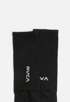 RVCA - Rvca sport high sock - black