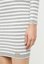 Sissy Boy - Multi stripe polo knit dress - multi