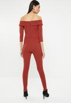 Sissy Boy - For the record jumpsuit - rust