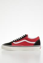 Vans - UA Old Skool 36 DX - (Anaheim Factory) - og black/og red