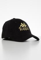 KAPPA - Baby cord peak - black