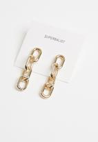 Superbalist - Charli  link earrings - gold