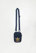 adidas Originals - Festival trefoil bag  - navy & beige