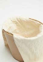 Superbalist - Isa drawstring bucket bag - beige