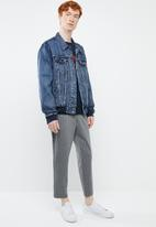 Levi's® - Unbasic bomber trucker second base - blue