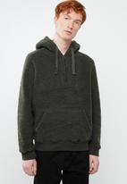 Brave Soul - Daim sweatshirt - khaki