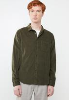 Brave Soul - Brew LS shirt - green