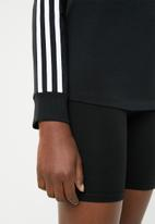 adidas Originals - 3 Stripe longsleeve tee - black