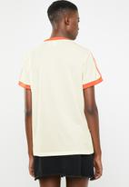 adidas Originals - Graphic sweater - cream & orange