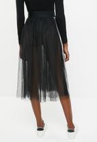 adidas Originals - Adidas tulle skirt - black