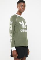adidas Originals - Og long sleeve tee - khaki