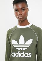 3fa29b46c Og long sleeve tee - base green adidas Originals T-Shirts ...