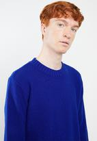 Superbalist - Oversized fisherman knit - blue
