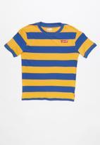 Levi's® - Boys colour block knit top -  blue & yellow