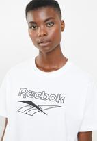 Reebok Classic - Classic crop tee - white