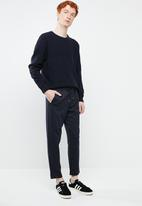 Superbalist - Relaxed fit textured knit - navy