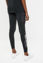 Reebok Classic - Classic graphic legging - black