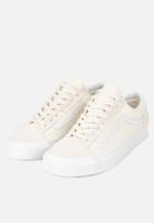 Vans - UA style 36 - (vintage sport) - classic white/blanc de blanc