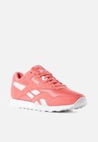 Reebok Classic - Cl nylon colour - colour-bright rose/white