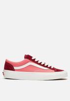 Vans - UA style 36 - (vintage sport) - rumba red & blanc de blanc