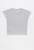 Cotton On - Anna short sleeve tee - grey