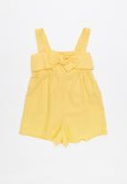 Cotton On - Zoe playsuit - yellow