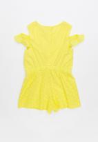 Cotton On - Misty playsuit - yellow