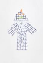 Cotton On - Boys hooded terry gown - multi