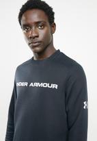 Under Armour - Move light graphic crew neck top - black