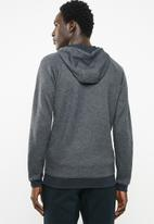 Under Armour - Unstoppable 2x knit full-zip hoodie - black