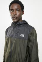 The North Face - M cyclone 2.0 hoodie - khaki & black