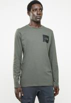 The North Face - Fine tee - olive