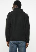 STYLE REPUBLIC - Fleece full zip jacket - black